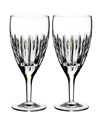 Mara Crystal Iced Beverage Glasses, Set of Two