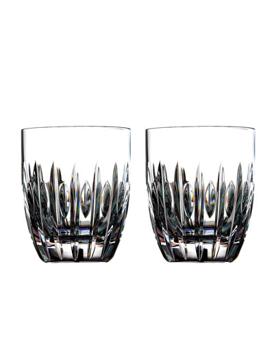 Mara Crystal Tumblers, Set of Two