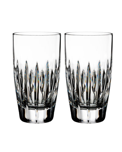 Mara Crystal Hiball Glasses, Set of Two