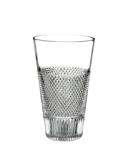 Diamond Line Crystal Vase - 8