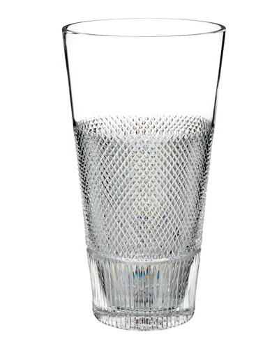 Diamond Line Crystal Vase - 12