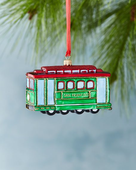 San Francisco Cable Car Ornament