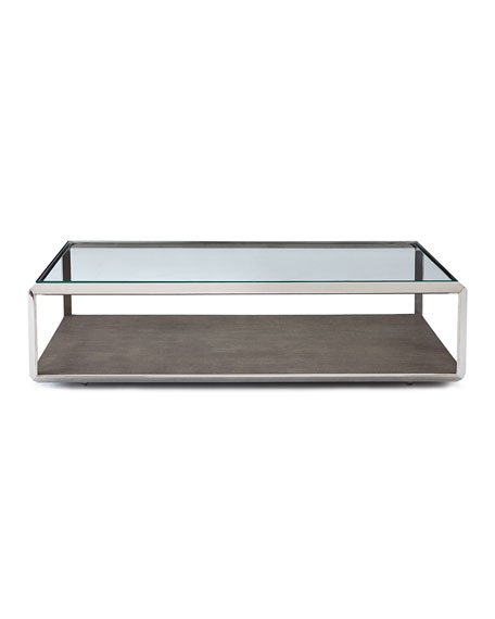 Shagreen Shadow Box Coffee Table