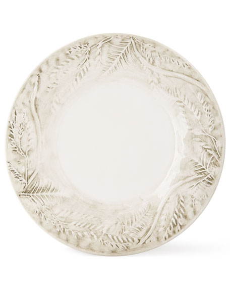 Fern Dessert Plate