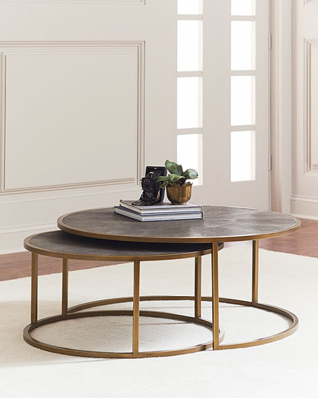 Charmant Ginny Nesting Coffee Tables