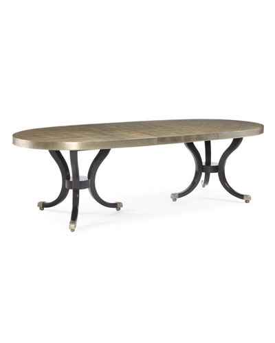 Sasha Double Pedestal Dining Table