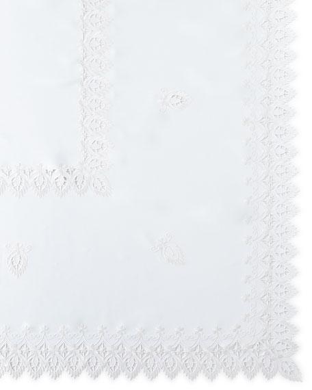 """Zella 72"""" x 126"""" Tablecloth & 12 Napkins"""