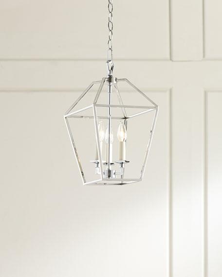 3-Light Cage Chandelier