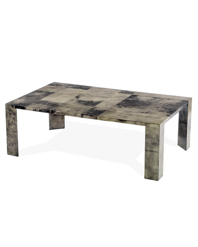Lillie Vellum Coffee Table