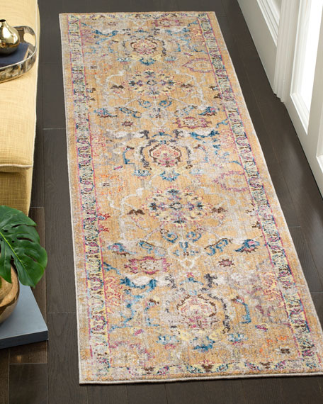 "Bedford Loomed Runner, 2'3"" x 8'"