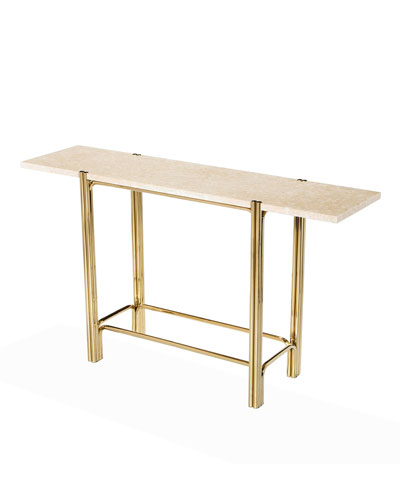 Bryce Marble Console Table