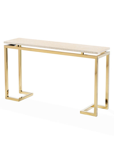 Harper Marble Console Table