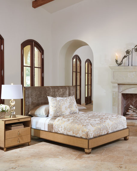 Ann Gish for Global Views D'Oro Queen Bed