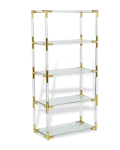 Julian Etagere Bookcase