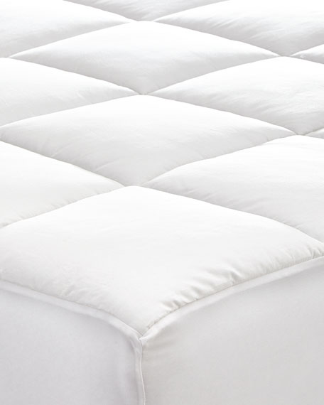 King Fitted Mattress Pad