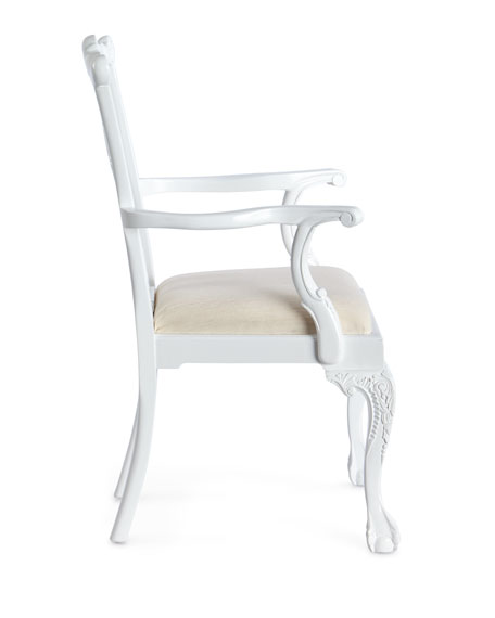 Harlan Chippendale Arm Chair