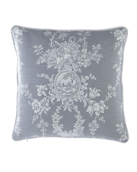 "Metropolitan Toile Pillow, 20""Sq."
