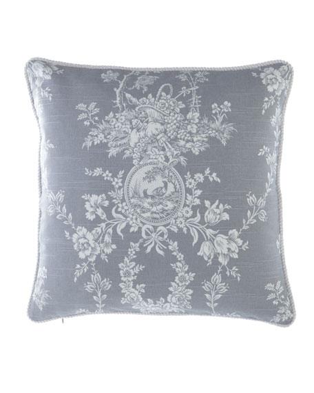 "Metropolitan Toile Pillow, 20""Sq."