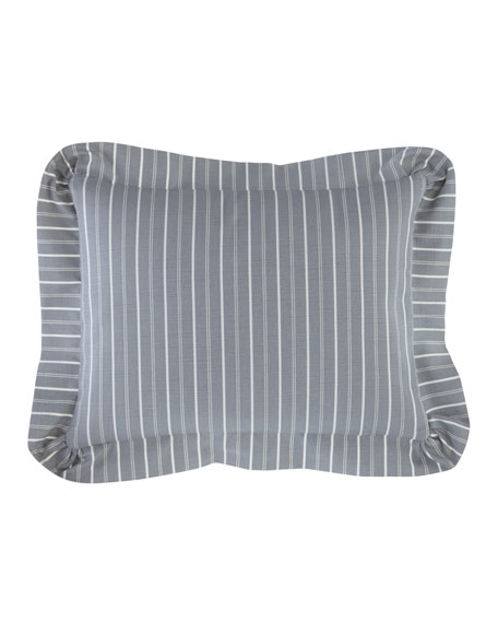 Metropolitan Striped Boudoir Pillow
