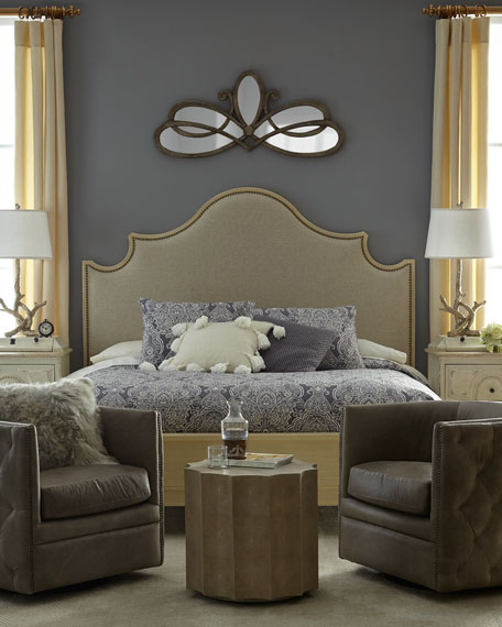 Moana Upholstered Queen Bed