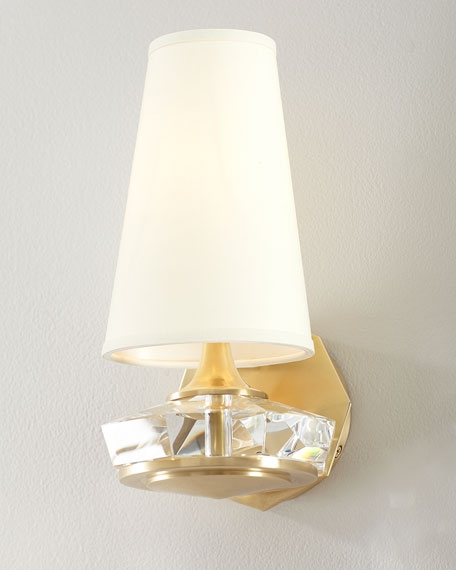 Santo Small Faceted Sconce