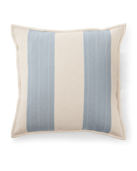 "Graydon Ticking Decorative Pillow, 20""Sq."