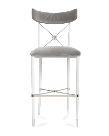 Rider Counter Stool, Gray