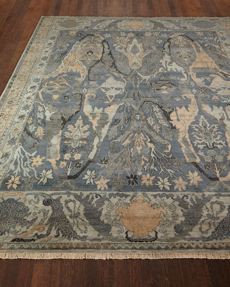 Exquisite Rugs Imani Handknotted Rug 10 X 14