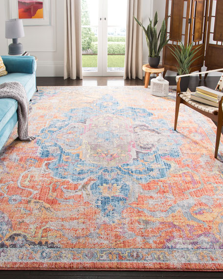 "Rowan Power Loomed Rug, 5'1"" x 7'6"""