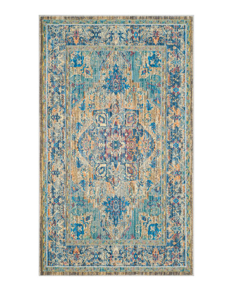 Dawkins Power-Loomed Rug, 4' x 6'