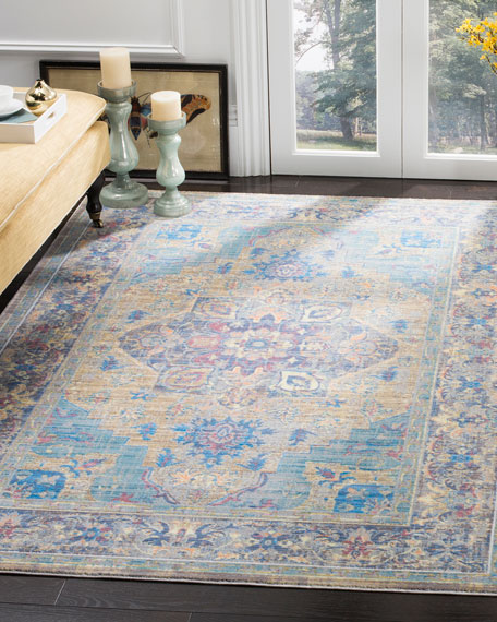 "Dawkins Power-Loomed Rug, 5'1"" x 7'9"""