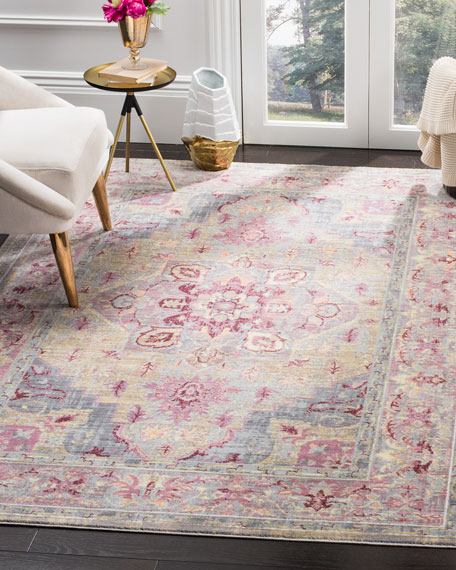 Baines Power-Loomed Rug, 6' x 9'2