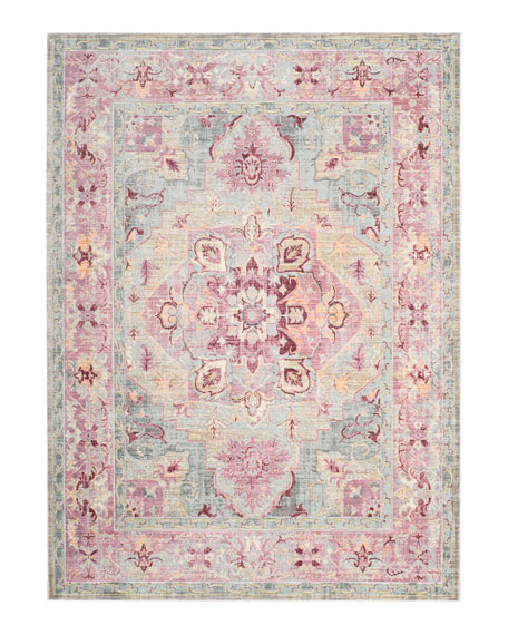 "Baines Power-Loomed Rug, 5'1"" x 7'9"""