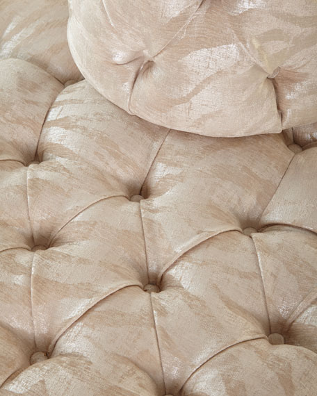 Fleur Island Sofa in Sculpture Sugarcane