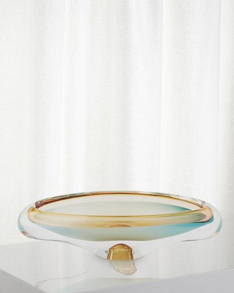 Canoe Bowl - Pistachio/Bubble Amber