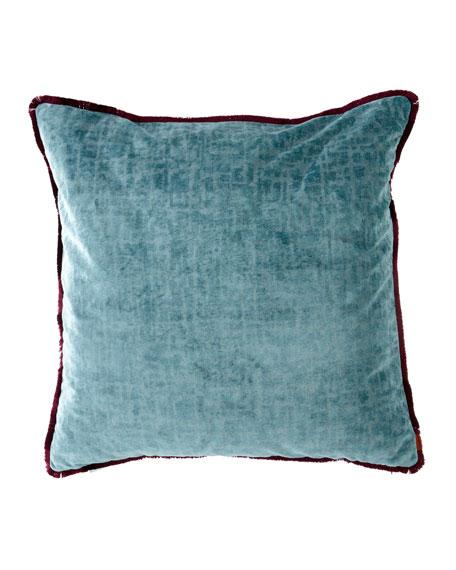 "Tibet Solid Cushion, 24"""