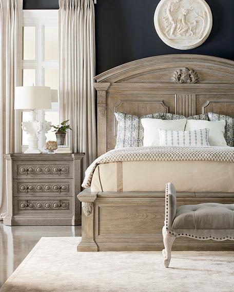 Daphne Queen Bed with Cedar Storage