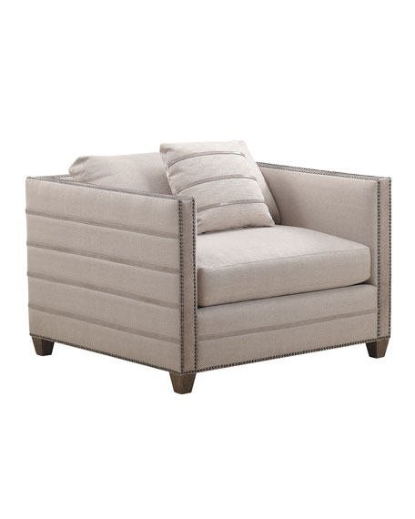 Everett Tone-on-Tone Chair