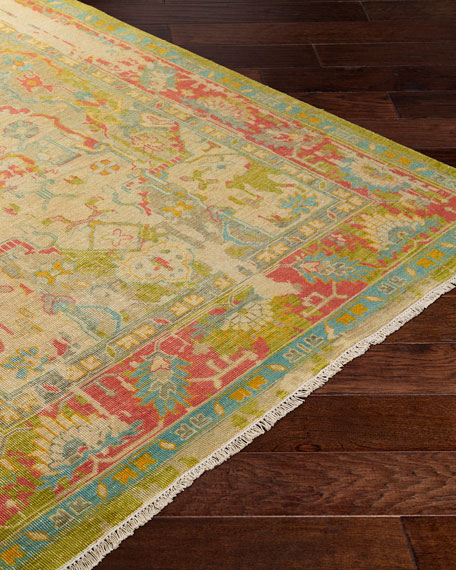 Heather Hand-Knotted Rug, 6' x 9'
