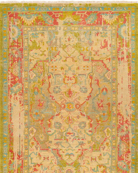 Heather Hand-Knotted Rug, 9' x 13'