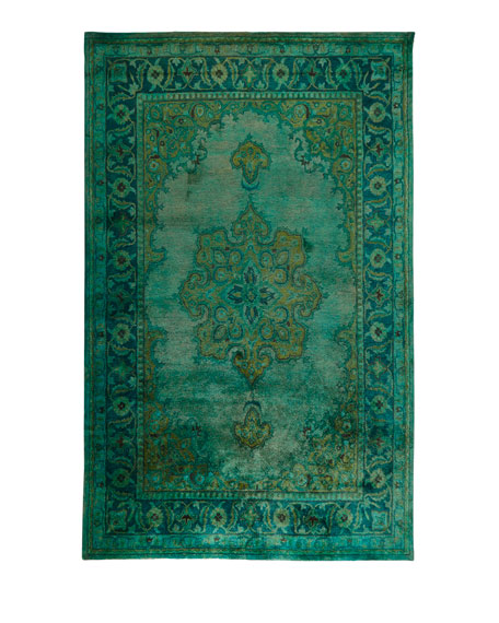 Lotus Hand-Tufted Wool Rug, 8' x 11'