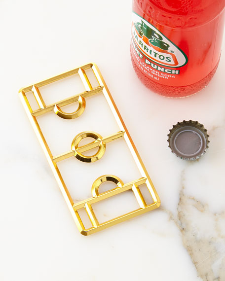 Stadium Bottle Opener, Golden