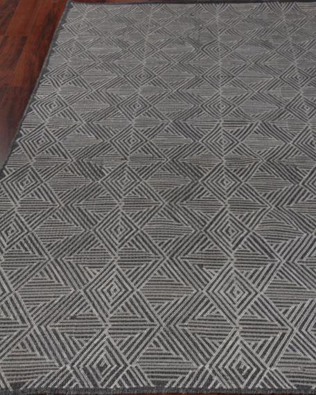 Exquisite Rugs Quinton Flat-Weave Rug, 8' x 11'
