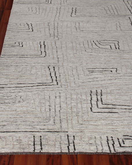 Balon Hand-Knotted Rug, 12' x 15'
