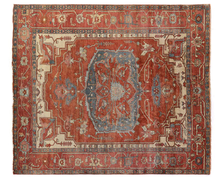 Drogo Hand-Knotted Rug, 6' x 9'