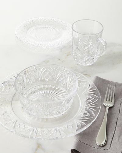 16-Piece Dublin Crystal Dinnerware Service