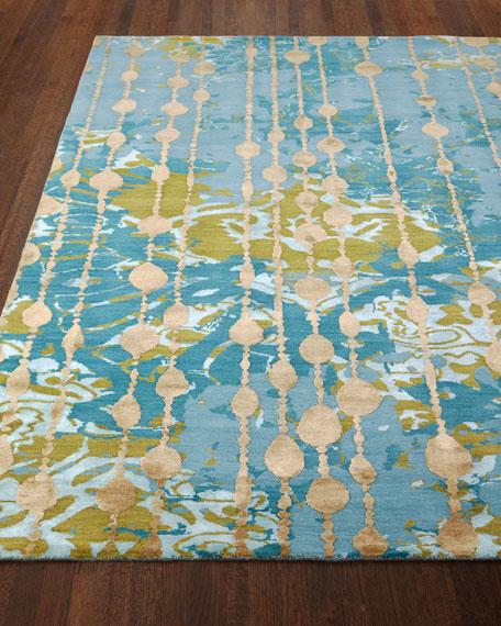 Butterfly Dream Hand-Knotted Rug, 5' x 8'