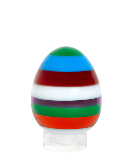Jonathan Adler Small Layers Egg, Multi