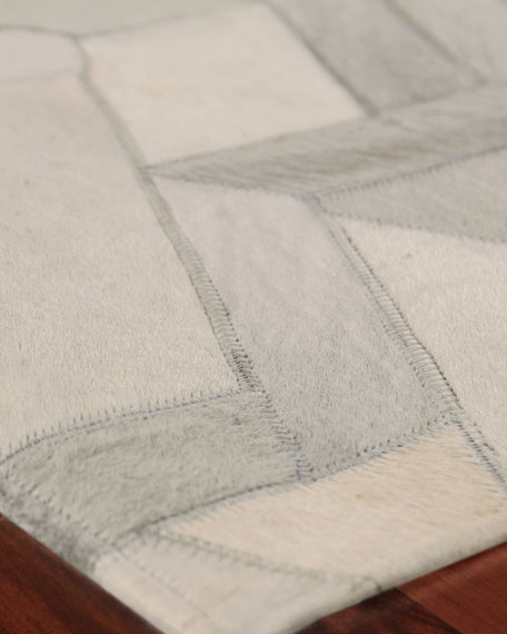 Brielle Hairhide Hand-Stitched Rug, 8' x 11'