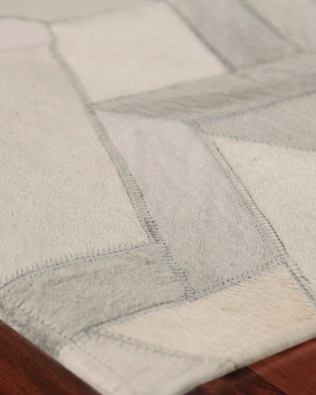 Brielle Hairhide Hand-Stitched Rug, 9.6' x 13.6'